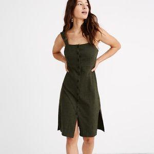 Madewell Texture & Thread Button Front Dress